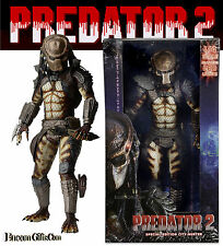 "PREDATOR 2 CITY HUNTER NECA 1/4 Scale 20"" Special Edition Figure w/ LED Lights"