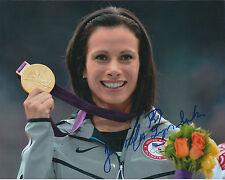 Jennifer Jenn SUHR Autograph Signed Photo AFTAL COA Olympic Gold Medal Winner
