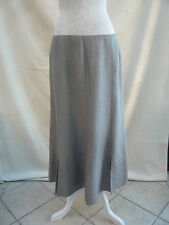 """Jacques Vert gorgeous lt gold with sheen lined skirt W 32"""" Size 14"""