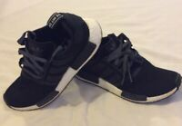 Adidas NMD Trainers Black White SIZE 7 UK Boost