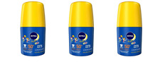 Nivea Sun Kids Roll On Spf50 50ml (SET OF 3)