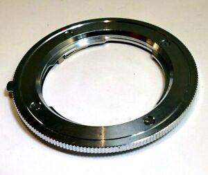 Minolta EL Reverse mount adapter Ring 55mm female threaded to MD MC close-up