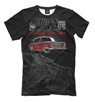 ВАЗ 2101 Classic USSR auto t-shirt VAZ LADA Zhiguli Жигули best car