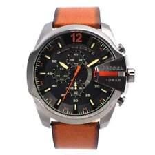 Relojes de pulsera Diesel de acero inoxidable cronógrafo
