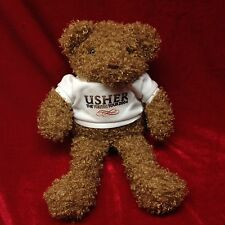 "Usher Truth Tour Teddy Bear Plush Stuff Animal Concert Merchandise Rare 7"" EUC"