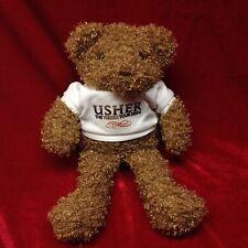"Usher Truth Tour Teddy Bear Plush Stuff Animal Concert Merchandise Rare 7"" EUC"