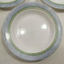 "Corning Ware Dinnerware ""Palazzo"" 8 7/8 Inch Rimmed Pasta or Soup Bowl Corelle"