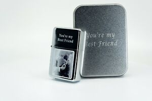 Personalised Engraved Lighter - PHOTO/TEXT ENGRAVING