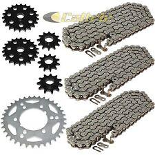 Drive Chain & Sprockets Kit Fits POLARIS MAGNUM 425 4X4 1995 1996 1997 1998