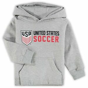USMNT Toddler Club Identity Pullover Hoodie - Heathered Gray