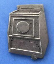 Vintage Rare Westinghouse 1950 Appliance Dryer Laundry Metal Print Block Stamp