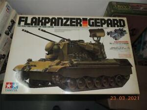 TAMIYA R/C TANK 1/16 GERMAN FLAKPANZER GEPARD KIT #56003
