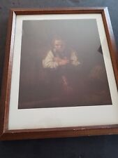 "Rembrandt-ANDREW MELLON -Collection-""A-Girl-with-a-Broom""-Painting-Antique-Art"