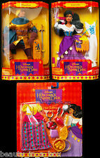 "Esmeralda Hunchback of Notre Dame Phoebus True Love Fashion Disney Doll Lot 3"" D"