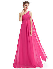 US Long Chiffon Wedding Bridesmaid Dresses Homecoming Prom Ball Gowns 09816
