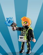 Playmobil Boy Mystery Figure Series 8 5596 Space Police Orange Hair Lazer Gun