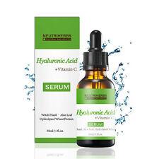 30ml Moisturizing Hyaluronic Acid+Vitamin C Serum Whitening Anti-wrinkle Beauty
