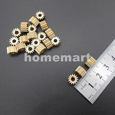 14T-3.17 Brass Gear 0.5 Modulus T=14 Aperture 3.17mm Model Accessories 14T Metal