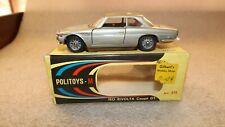 Vintage Politoys Iso Rivolta Coupe GT #515 H