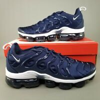Nike Air Vapormax Plus Running Shoes Mens Size 10 Athletic Midnight Navy