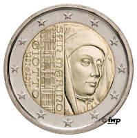 ++ 2 EURO Gedenkmünze SAN MARINO 2017 - Giotto di Bondone - lose, OHNE Folder