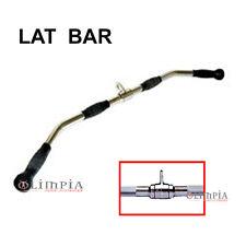 Olympian's - LAT BAR 98cm DORSALI professionale MULTIUSO per LAT MACHINE