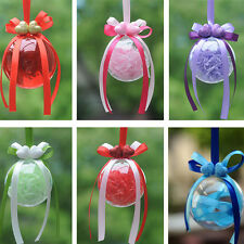 30x Baubles Transparent Fillable Christmas Tree Ball Decoration Ornaments bauble