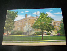 Vintage Postcard- McCulloch Junior High School, Marion, Indiana
