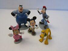 Disney Mickey Mouse & Friends Cake Topper Minnie Goofy Pluto Pete Figurines