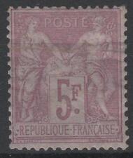 """FRANCE STAMP TIMBRE 95 """" SAGE 5F VIOLET SUR LILAS 1877 """" NEUF xx TB A VOIR  M564"""