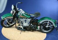 Franklin Mint Harley Davidson 1936 EL The First Knucklehead 1:10 Die-Cast Metal