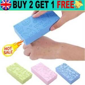 Bath Sponge Dead Skin Remover Brush Exfoliating Massager Cleaning Shower