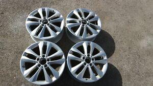 2273 Original Mercedes C Klasse W205 Alufelgen 7x17 ET48,5  A 2054018000 RDKS