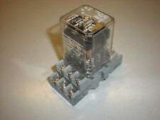 Dayton Model 5X841F - 3-Pole Double Throw Relay - 120VAC Coil - with Socket