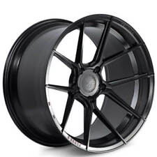20x10/20x12 Ferrada Wheels F8-FR8 Matte Black Rims with tires