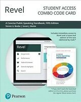 Concise Public Speaking Handbook Revel Combo Access Card, Hardcover by Beebe,...