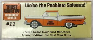 Trust Worthy 1957 Ford Ranchero Coin Bank #57001 - NEW