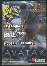 tgm 255the GAMES MACHINE-just cause2-kane&lynch2 dog days-modern warfare2-avatar