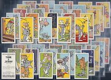 BARRATT-FULL SET- TOM AND JERRY (50 CARDS) - EXC+++
