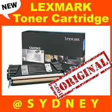 New Genuine Lexmark C522 C524 C530 C534 Black Toner Cartridge C5222KS