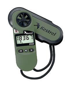 Kestrel 3500NV (0835NV) Handgehalten Wetter Meter Fabrik Autorisierter Händler