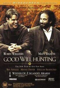 Good Will Hunting : Robin Williams & Matt Damon : NEW DVD
