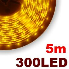 P810/5# Ruban LED jaune 5 mètres 300 LED 3528 - yellow LED strip