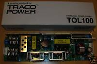 TRACO BLOC ALIMENTATION  NEUVE  TOL100   12V    8.5A  open frame TOL 100
