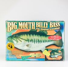 Big Mouth Billy Bass Singing Fish '98 Take me To the River Don't Worry Be Happy