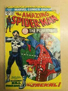 Amazing Spider-Man #129 1974 1st app. Punisher, Jackal. Low grade 🔥 reader