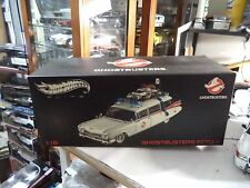 "1959 Cadillac Ecto 1 ""GHOSTBUSTERS"" 1/18 Scale Hotwheels ELITE W1176 MIB NOS NEW"