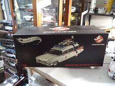 "1959 Cadillac Ecto 1 ""GHOSTBUSTERS"" 1/18 Scale Diecast Car Hotwheels ELITE W1176"