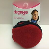 Degrees by 180s Women  Adjustable Behind the Head Ear Warmer RED Fleece