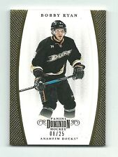 Bobby Ryan Anaheim Ducks 2011-12 Dominion Hockey Gold Card 08/25